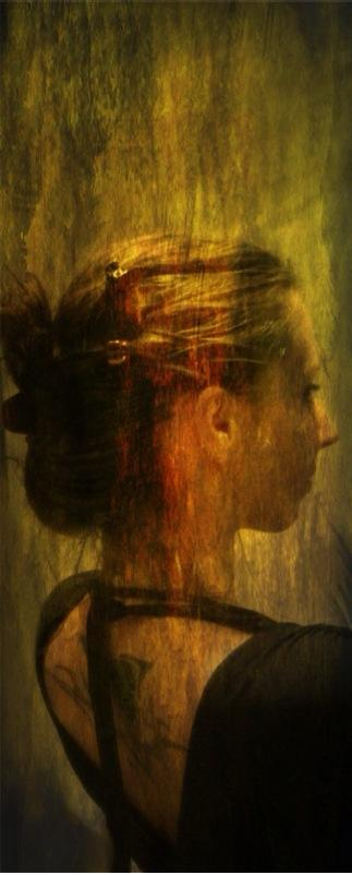 A great artist created an oil painting in my name. {Okay... It's really just done in an iPhone photo editing app... ;) }