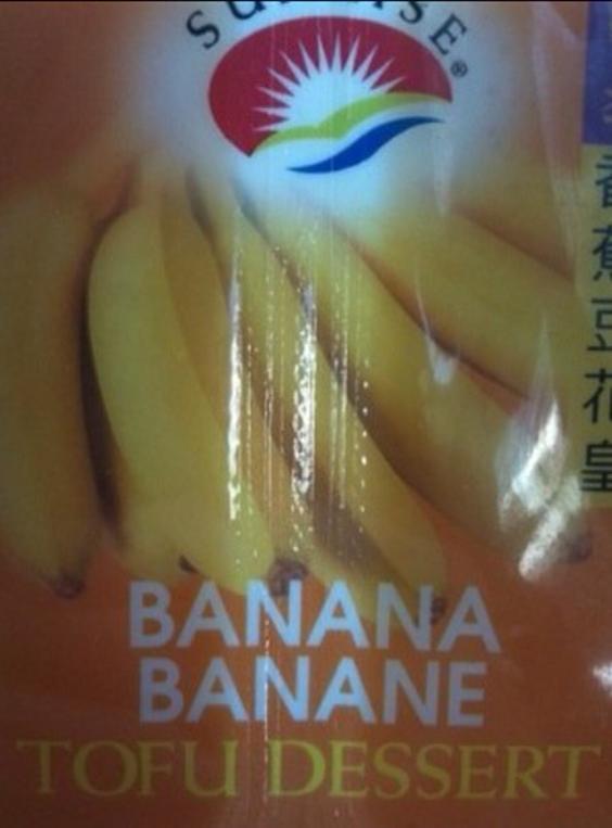 Banana Tofu Dessert