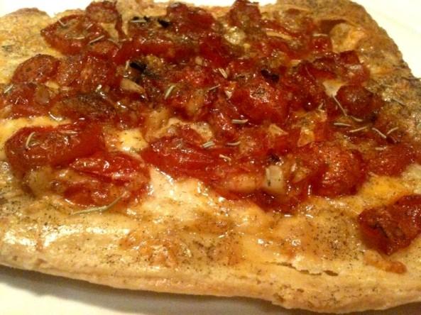 "The Tomato Tart ""better than pizza"""