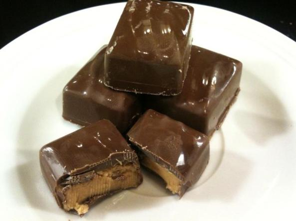 peanut butter filled chocolates
