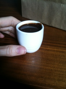 Mayan Hot Chocolate Shot... Drink up! ;)