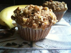 "I should call this the ""Elvis Muffin"" :)"