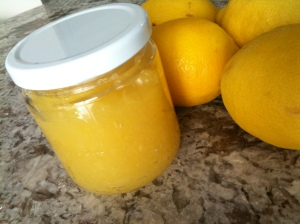 Home made lemon curd :)